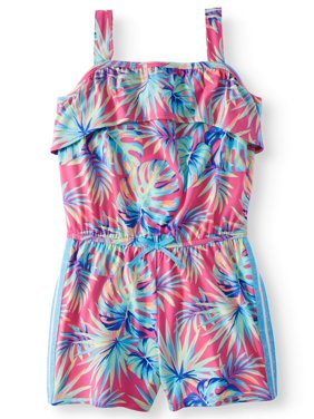 21d2caec4 Product Image Printed Yummy Knit Flounce Romper (Little Girls, Big Girls &  Big Girls Plus)
