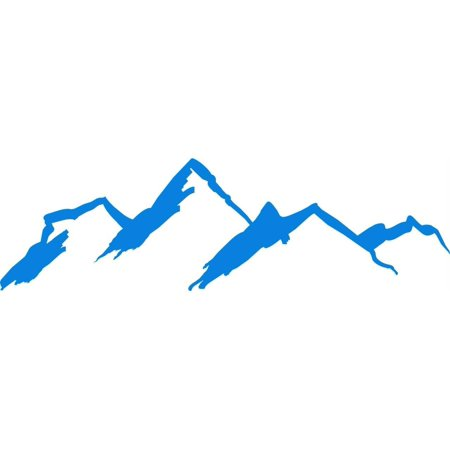 Do It Yourself Wall Decal Sticker Mountains Scene 10