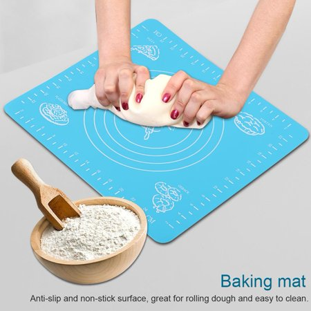 Ejoyous Anti-slip Silicone Baking Mat Non-stick Rolling Dough Pad for Bakeware Liner,Baking Mat, Anti-slip Baking Mat (Bakeware Liner)