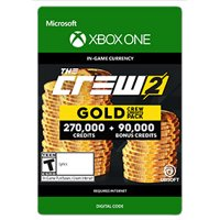 The Crew 2 Gold Crew Credit Pack, Ubisoft, Xbox, [Digital Download]