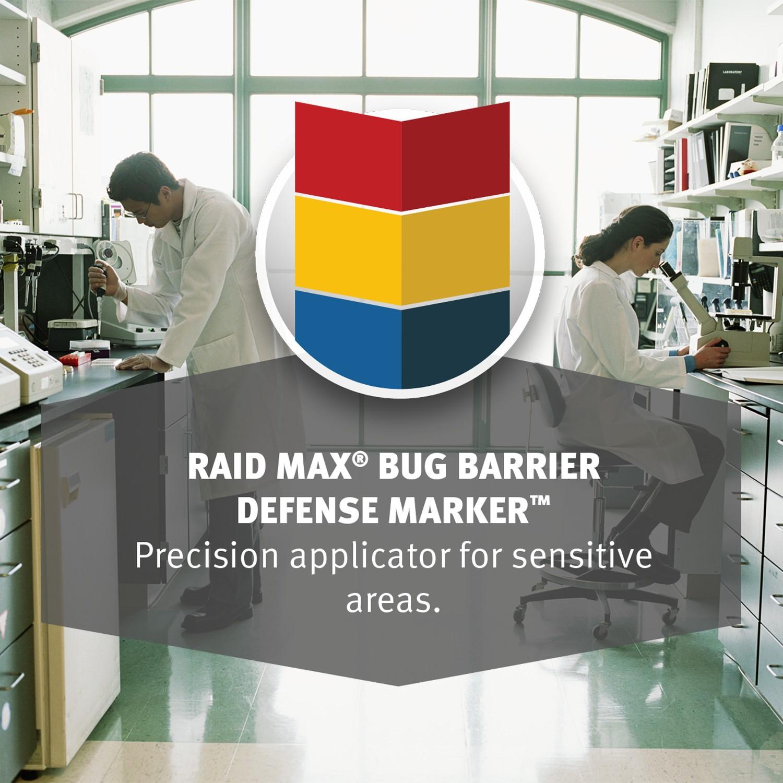Raid Max Bug Barrier Defense Marker, 4 Oz