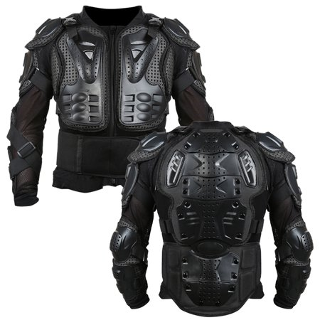Jeobest Motorcycle Protective Armor - Motorcycle Riding Armor Jacket - Motorcycle Full Body Armor Protector Motocross ATV Shirt Jacket Protection Black L (Please confirm size before