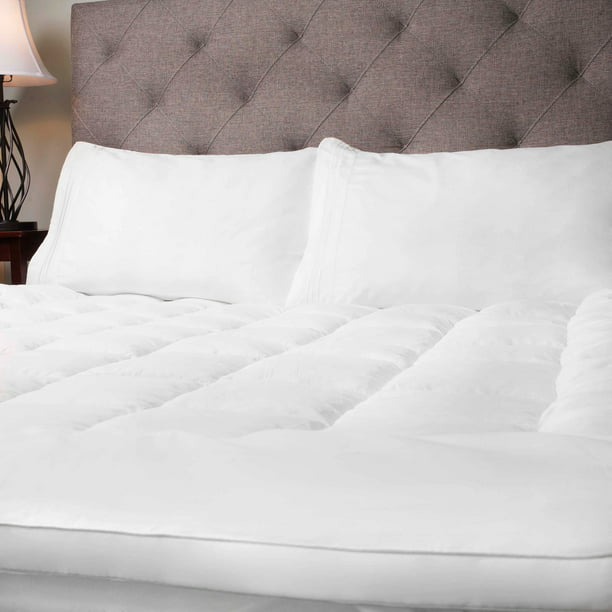 Hypoallergenic Polyester Down Alternative Fiber Bed Mattress Topper - All Bed Sizes