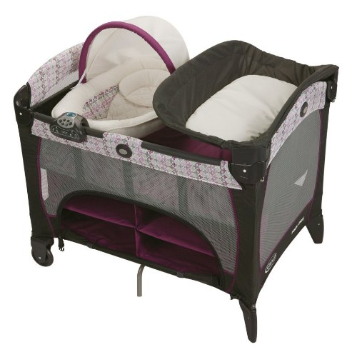 Graco Pack 'n Play Playard with Newborn DLX, Nyssa