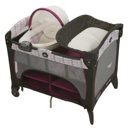 Pack 'N Play Playard with Newborn DLX - Nyssa - Walmart.com
