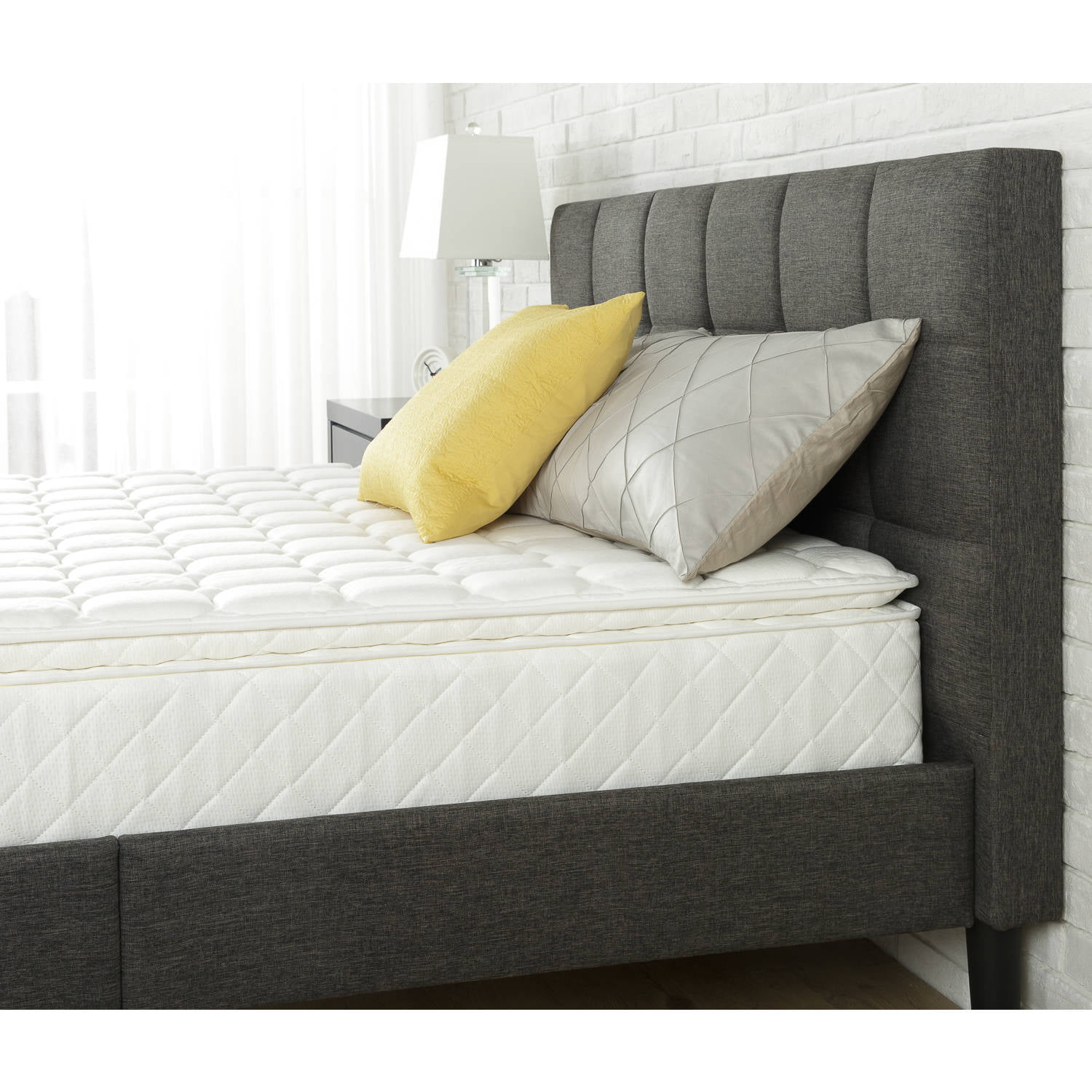 king beautiful of pillow top queen and cover quot serta walmart mattress size topper memory foam