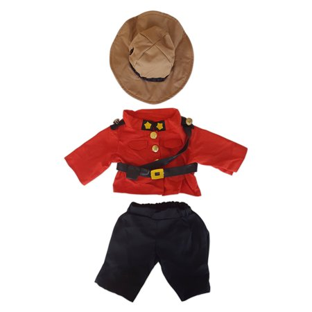Royal Canadian Mountie Outfit Fits Most 14