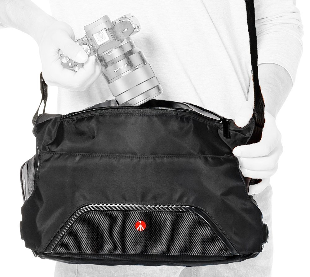 Manfrotto Small Active Messenger Camera Bag Black by Manfrotto