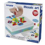Miniland Mosaic Art, 180 Pieces