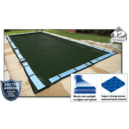 Arctic Armor WC846 12 Year 16'x32' Rectangle In Ground Swimming Pool Winter Covers - image 4 of 4