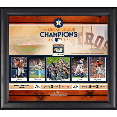 Houston Astros Fanatics Authentic 2017 MLB American League Champions Framed 15