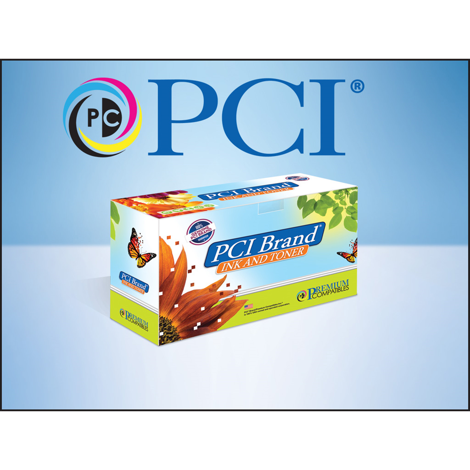 PCI Brand Brother TN-331Y Yellow Toner Cartridge Replacement