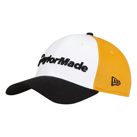 new style 8c3c2 c37a2 taylormade golf 2017 lifestyle new era 39thirty hat yellow blue white s m -  Walmart.com