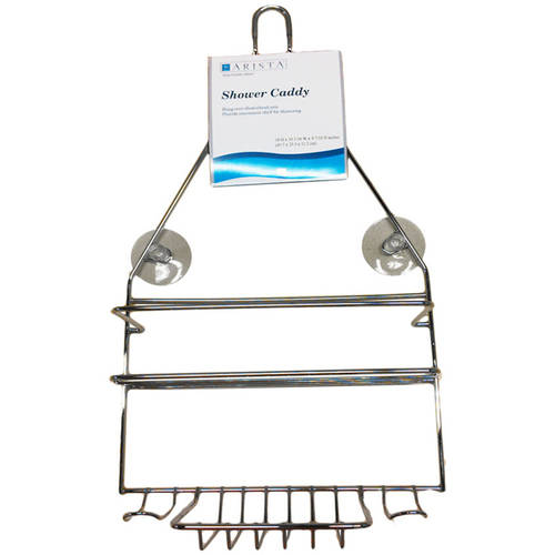 Click here to buy ARISTA Shower Caddy Multiple Finishes by WT INTERNATIONAL INC..