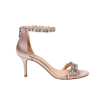 Caroline Embellished Satin (Jeweled Satin Sandals)
