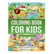 Coloring Book For Kids Animals Children