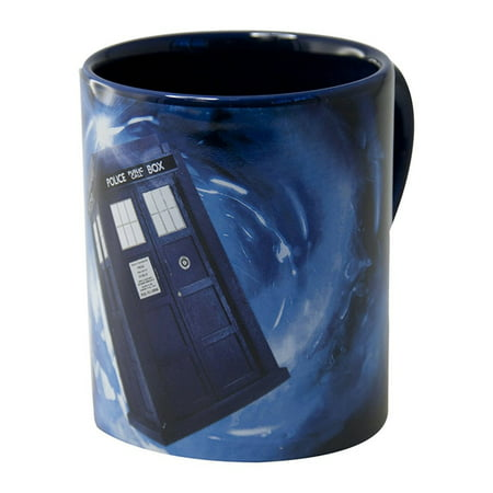 Doctor Who Hidden Tardis 12 Oz Mug