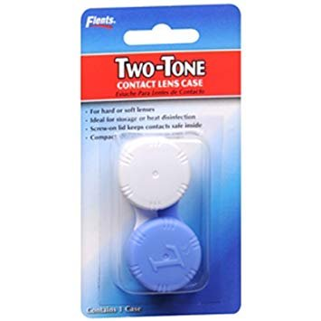 Two-tone Contact Lens Case Two-tone Contact Lens Case