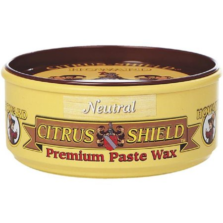 Howard Citrus Shield Furniture Protect / Clean Orange Oil Paste Wax 11 OZ