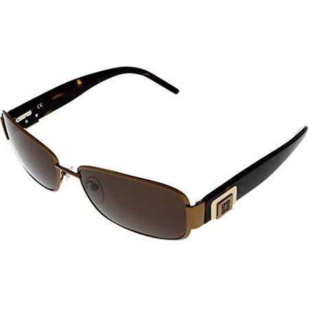 Givenchy Sunglasses Womens SGV286 0R80 Bronze Havana Rectangular Size: Lens/ Bridge/ Temple: 58-16-135