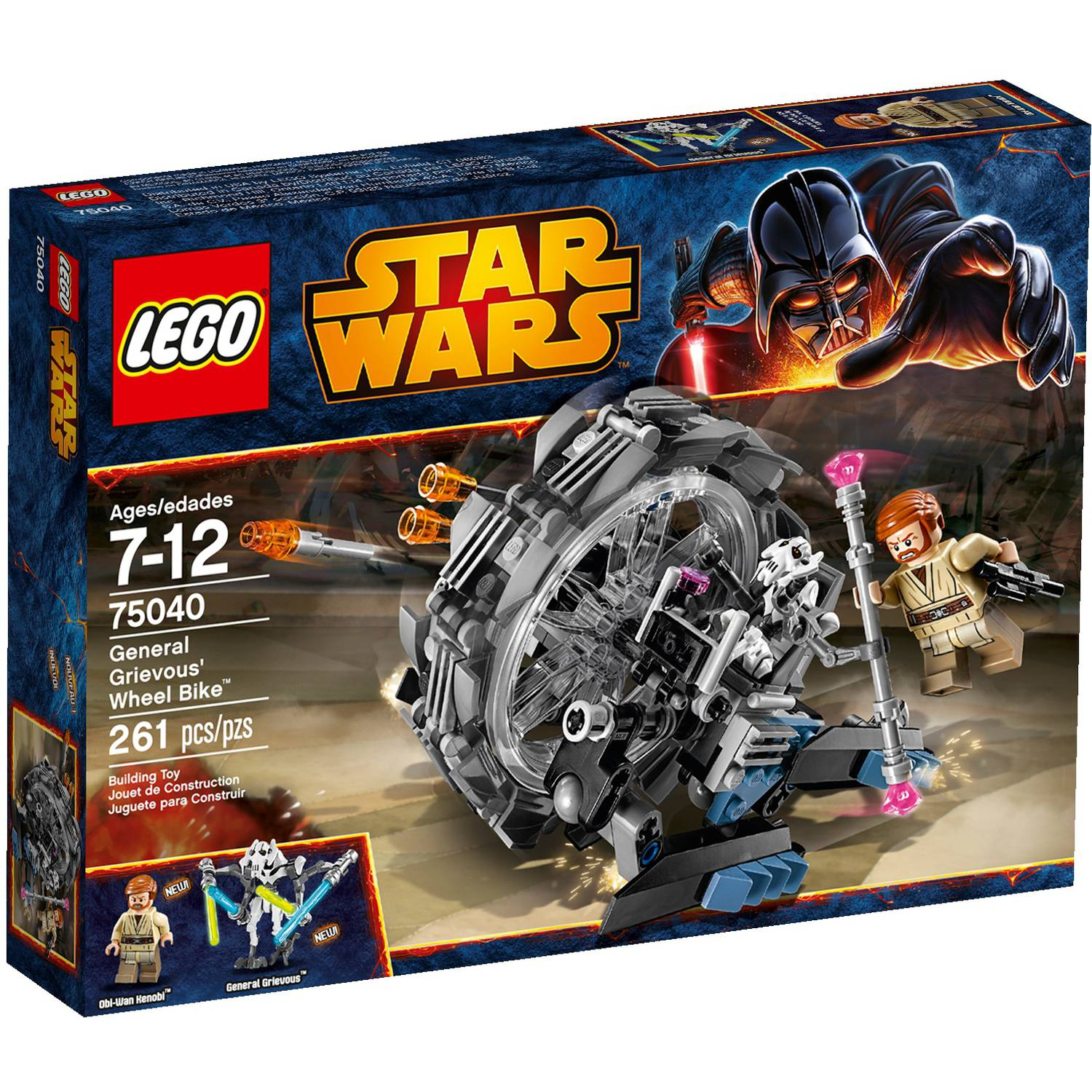 LEGO Star Wars General Grievous' Wheel Bike Play Set