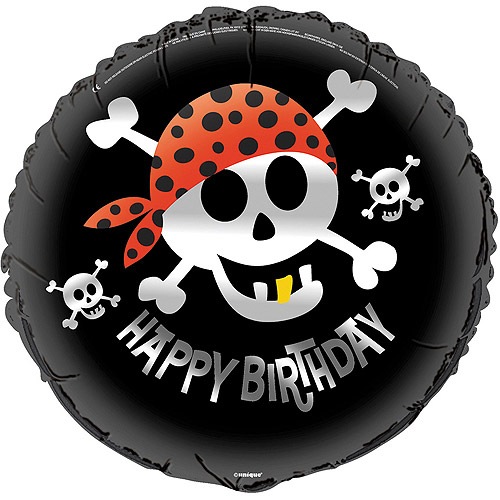 "18"" Foil Pirate Party Balloon"