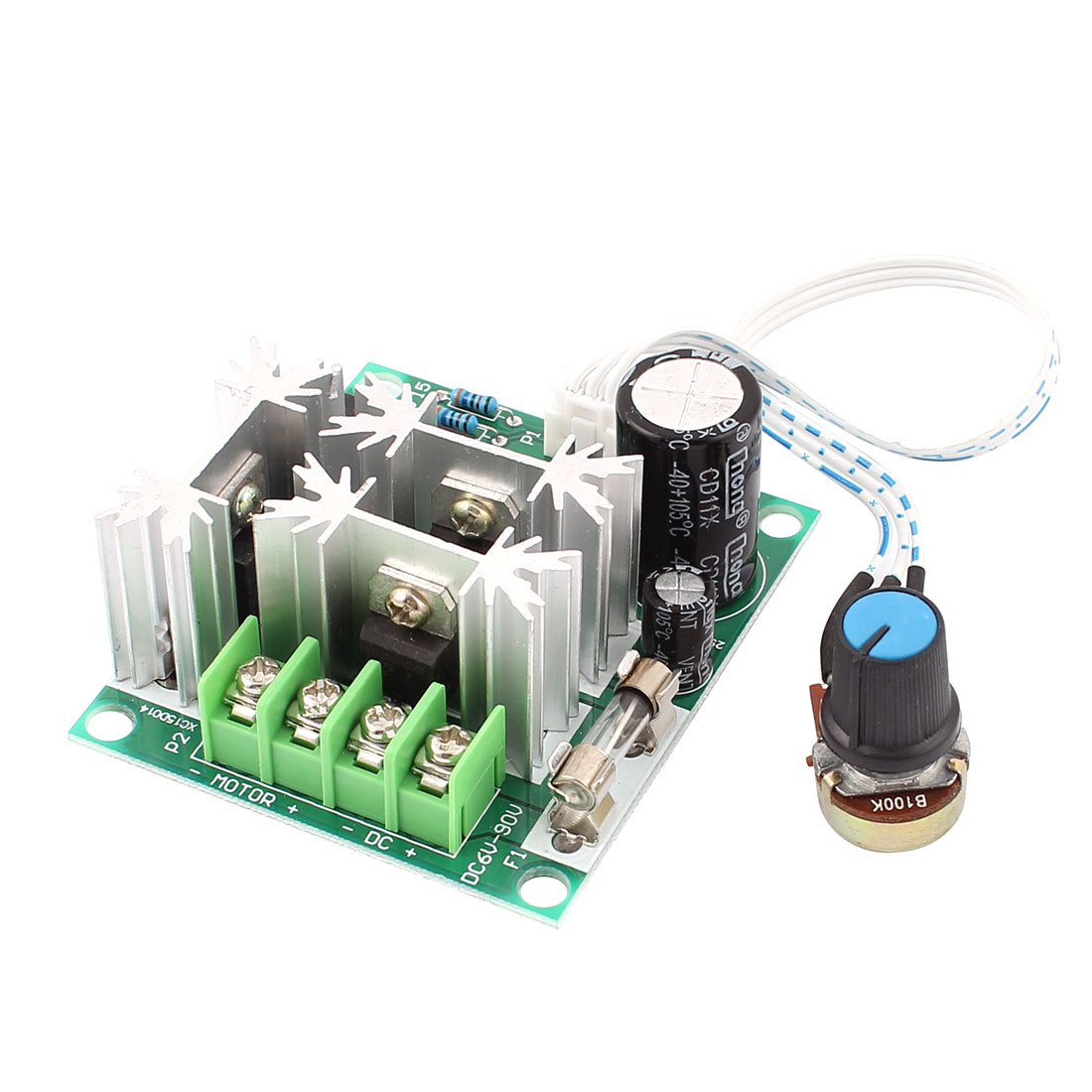 Unique Bargains 6v 90v 15a Pulse Width Modulator Pwm Dc Motor Speed Is A Circuit To Control Uses Modulation Controller Switch