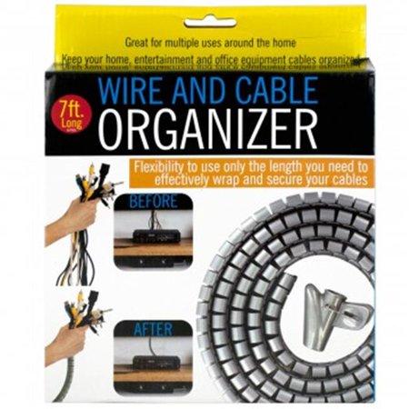 Bulk El Wire (Bulk Buys OS627-8 Wire & Cable Organizer - 8)