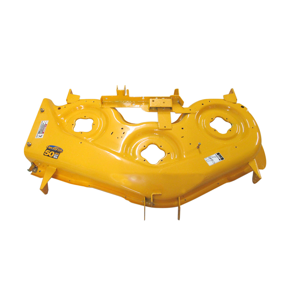 """Cub Cadet 50"""" Deck Shell Replacement (Yellow, LTX) for Lawn Tractors & Others   983-04561-4021 by Cub Cadet"""