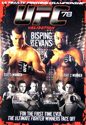 UFC 78: Validation by FIRST LOOK PICTURES