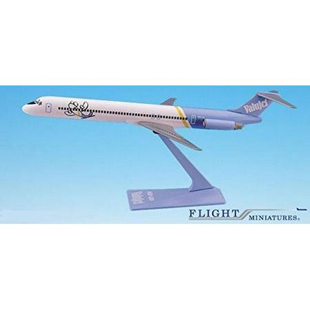 ValuJet MD-80 Airplane Miniature Model Plastic Snap-Fit 1:100 Part# AMD-08000H-010