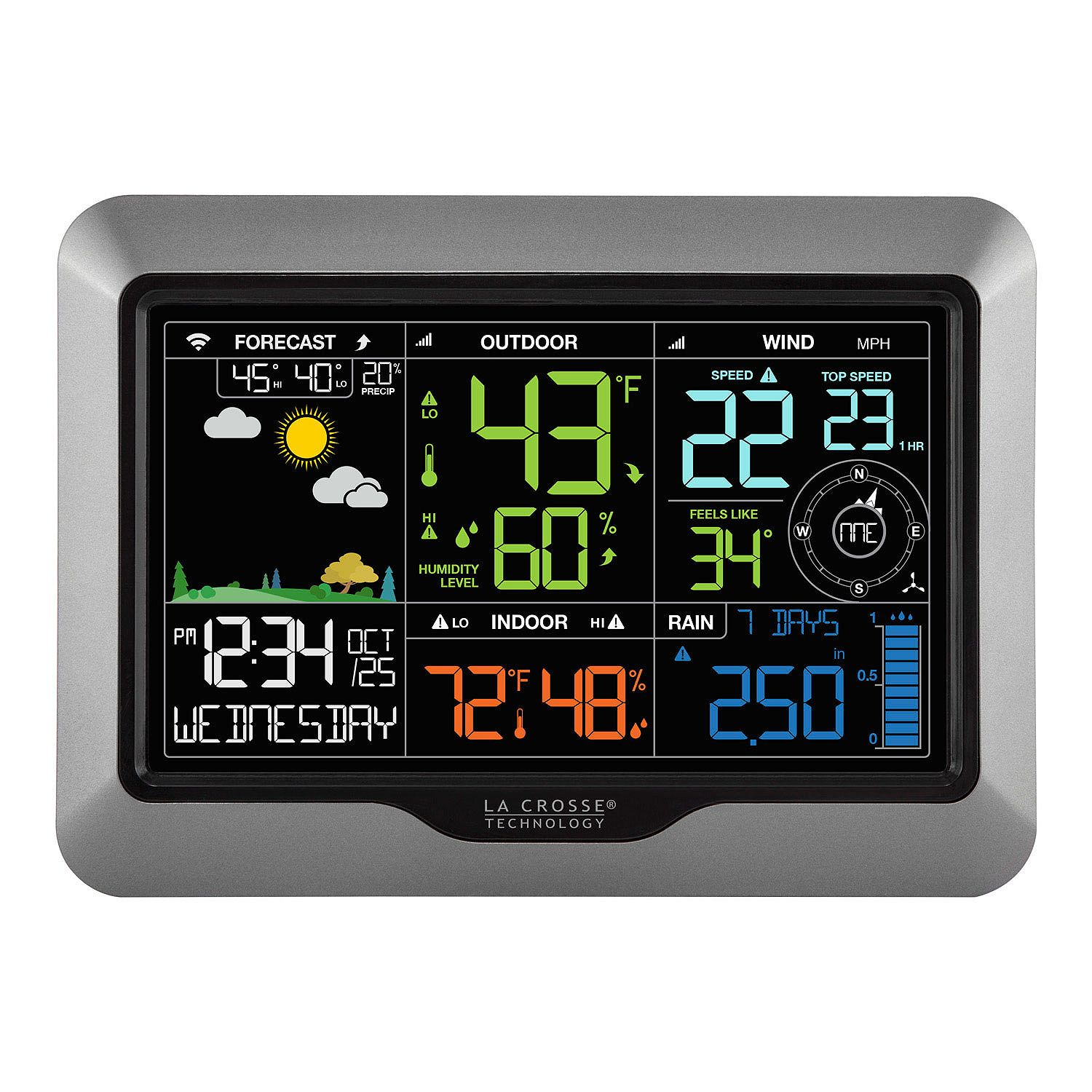 La Crosse Technology Professional Remote Monitoring Weather Station Model S84060 by Weather Stations
