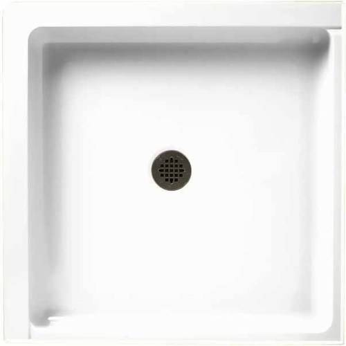 "Swan SS-36DTF-010 36"" x 36"" Swanstone Shower Base (Drain ..."