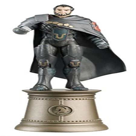 Dc Superhero Zod Black Knight Chess Piece With Magazine