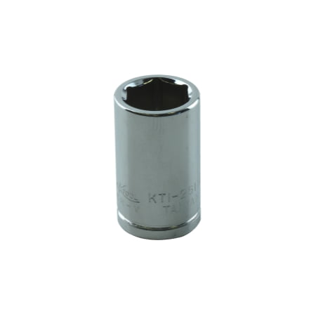 1/4in. Drive Standard 6 Point Chrome Socket (Chrome Switched Socket)
