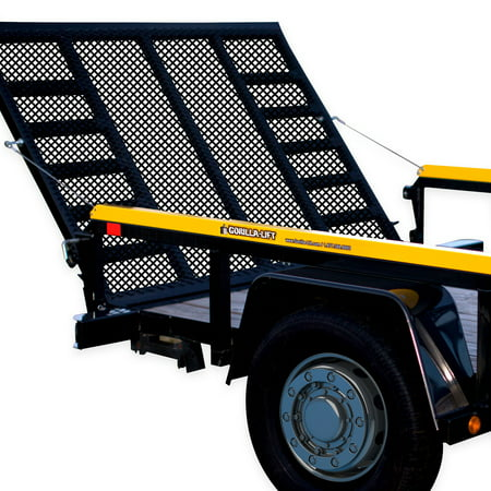 Gorilla Lift 2 Sided Tailgate Utility Trailer Gate & Ramp Lift Assist (Gorilla Life)