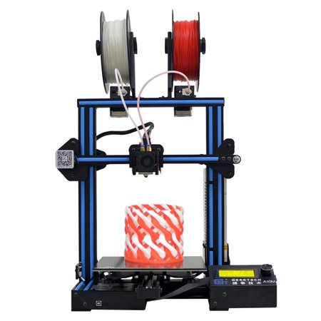 Geeetech A10M 3D Printer FDM 2 In1 Out Mix-Color Dual Extruder GT2560 Open Source High-P recision Printing 0.1mm 220*220*260mm