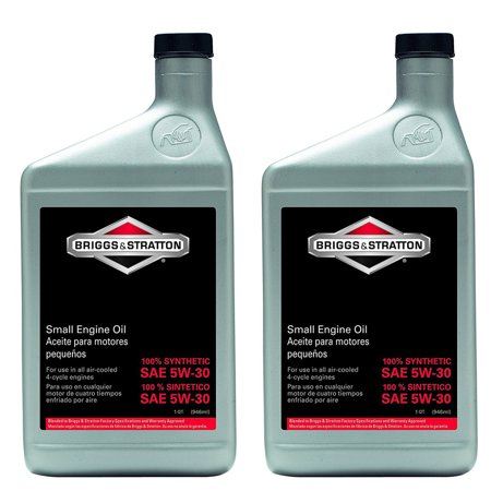 Briggs and Stratton 2 Pack Of Genuine OEM Replacement Oil # 100074-2PK