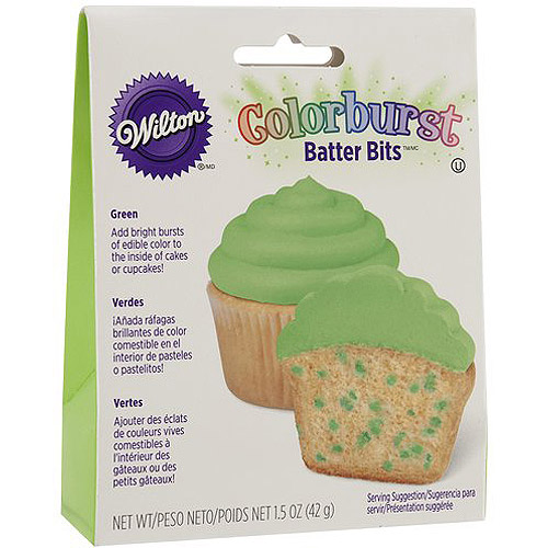 Wilton Green Colorburst Batter Bits