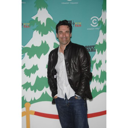 Jon Hamm At Arrivals For South Park 15Th Anniversary Party Barker Hangar Santa Monica Ca September 20 2011 Photo By Michael GermanaEverett Collection Celebrity - South Park Episode Halloween Party