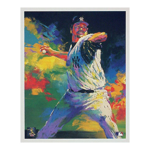 MLB - Roger Clemens New York Yankees All-Star 12x18 Lithograph