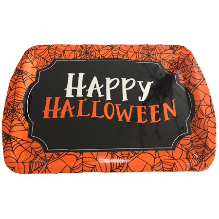 Halloween Serving Tray, Extra Large Heavyweight Serveware Platter Large 13