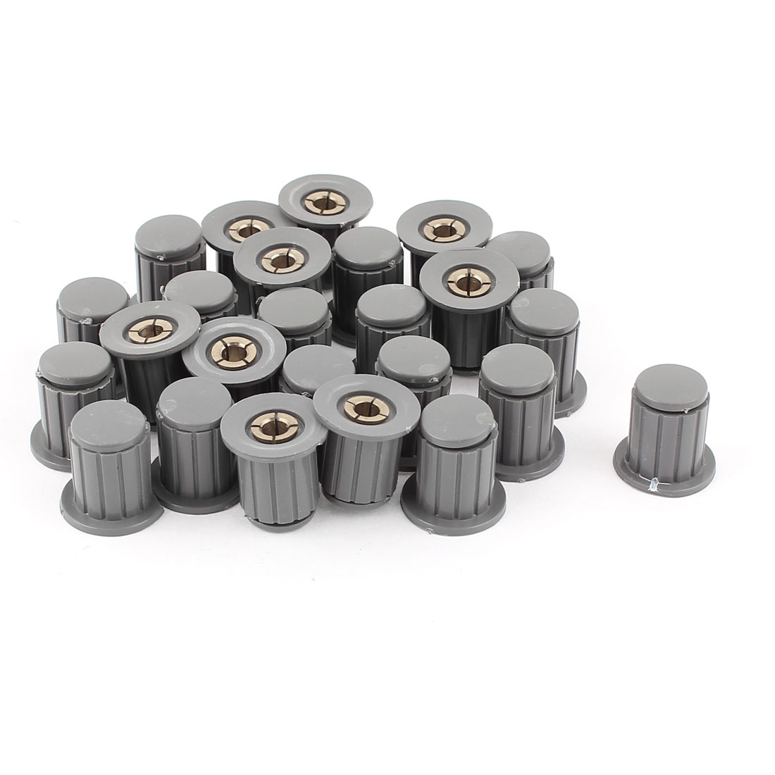 25 pcs 4mm laiton Diamètre insérer boutons commande potentiomètre ton C ur - image 1 de 1