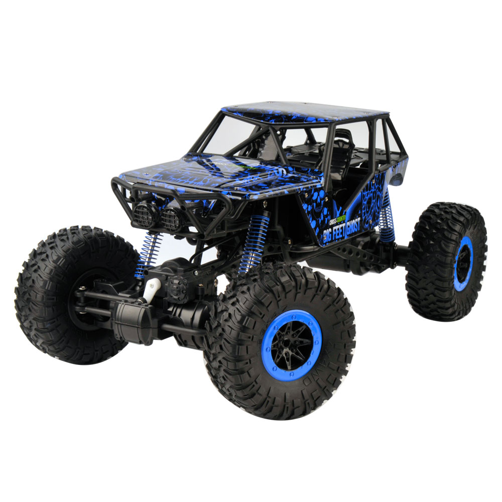 2.4Ghz 1/10 Scale RC Rock Crawler 4x4 RC Truck with LED L...