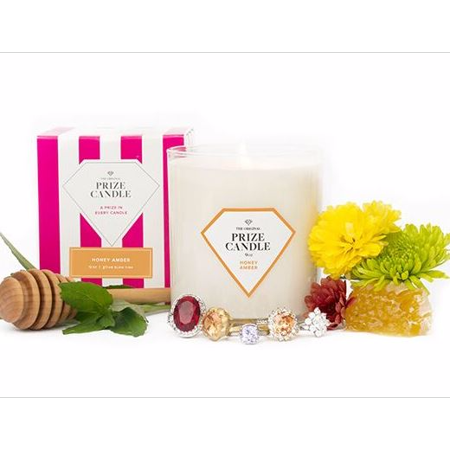 Honey Amber Prize Candle