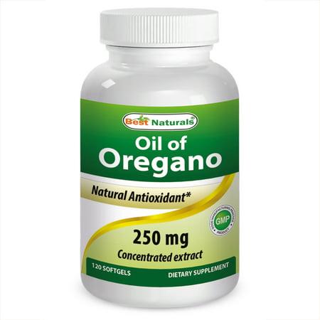 Best Naturals Oregano Oil 250 mg 120 Softgels (Best Oil Of Oregano For Herpes)