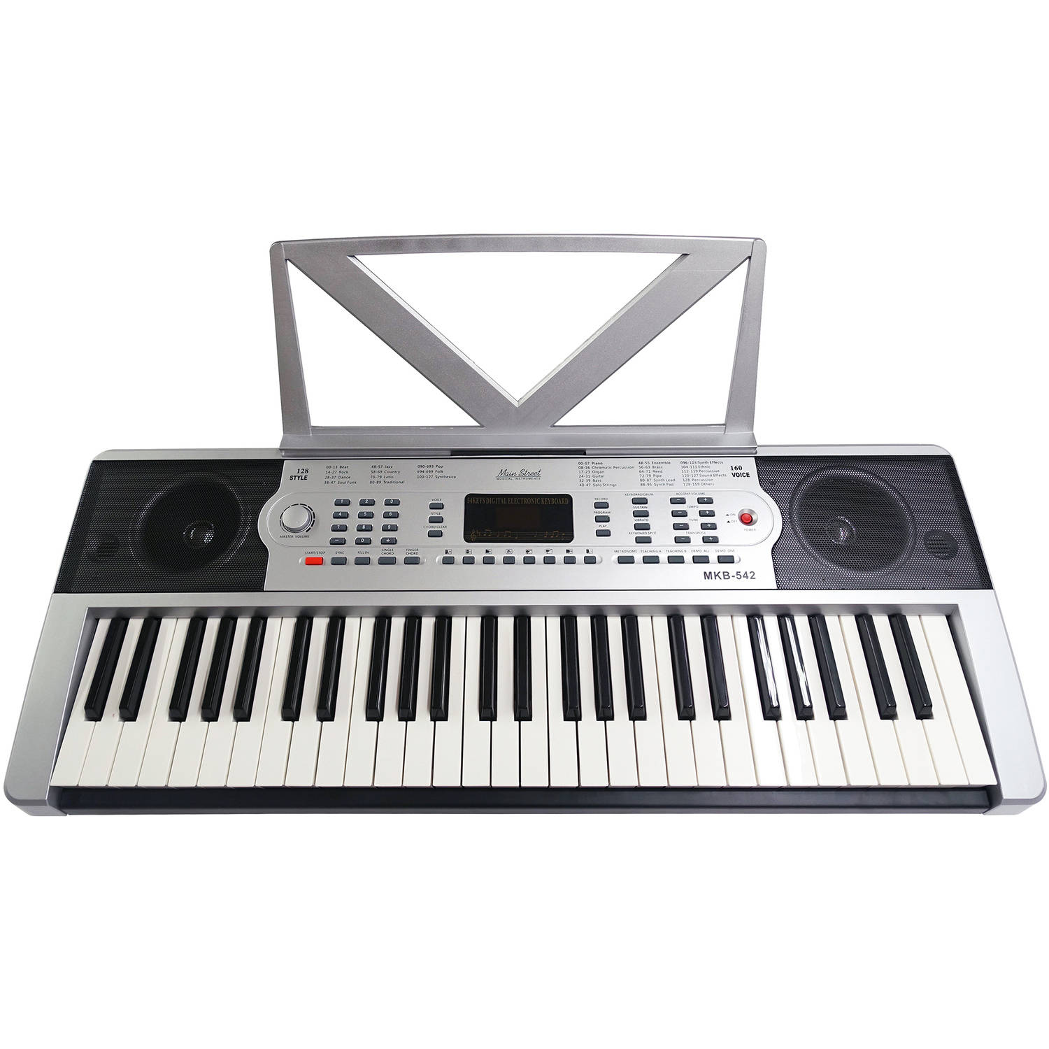 Main Street 54-Note Electronic Keyboard