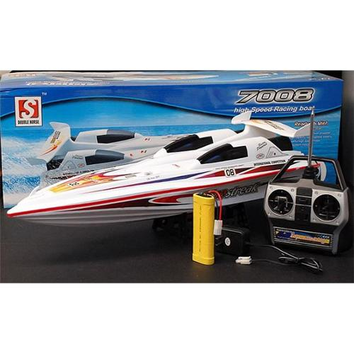 AZ Imports B08 28 inch Blue Streak Marine High Performance RC Electric EP Racing Speed Boat