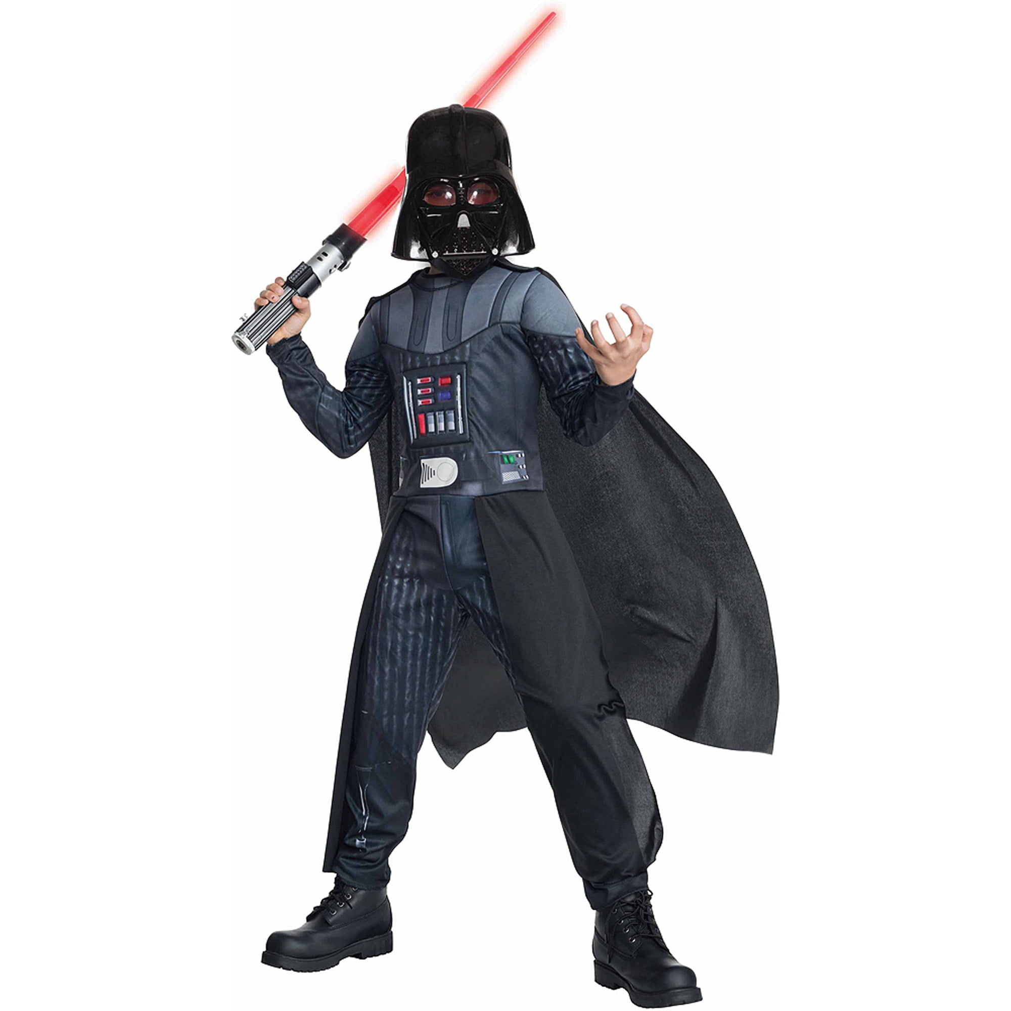 star wars darth vader child dress up role play costume walmartcom - Halloween Darth Vader