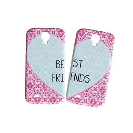Set Of Heart Best Friends Phone Cover For The Samsung Galaxy S6 Edge Case For iCandy